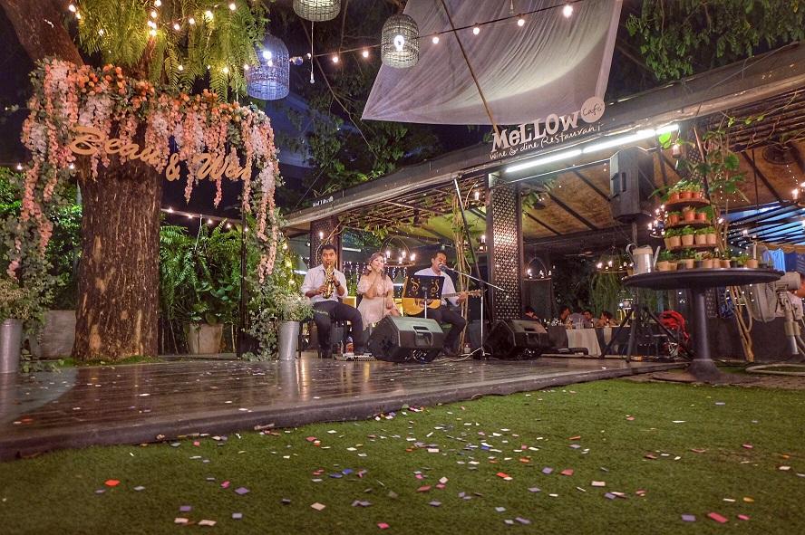 งานแต่งงาน Rustic Wedding-วงดนตรีอคูสติก Mellow Garden 1