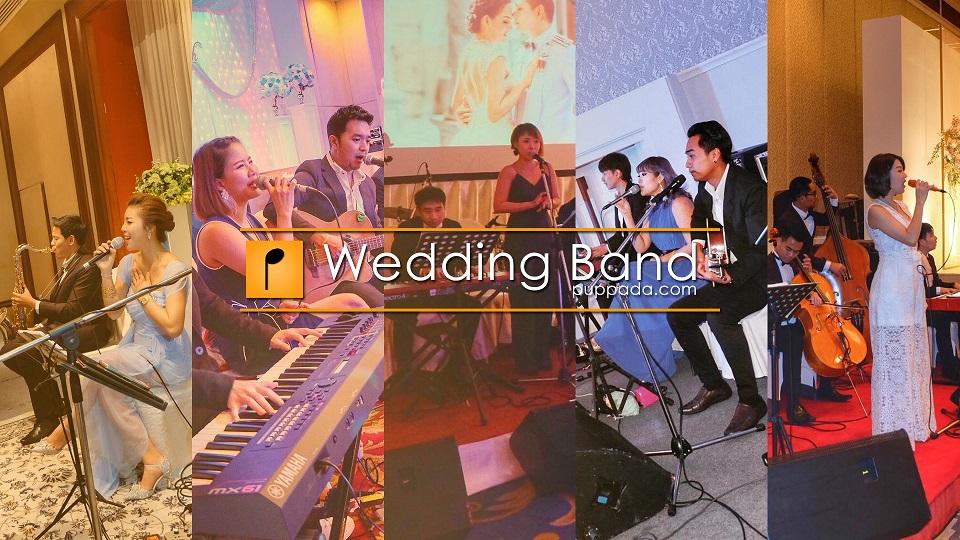 วงดนตรีงานแต่ง puppada wedding band