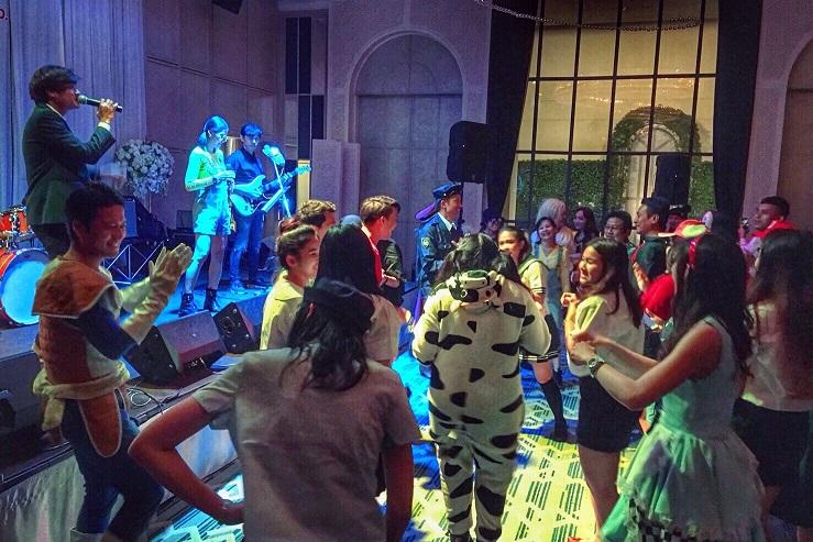 งานเลี้ยงปีใหม่ วงดนตรีงานเลี้ยง puppada 3